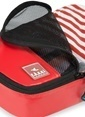 Fagel Travel 4Lü Klasik Set Kırmızı